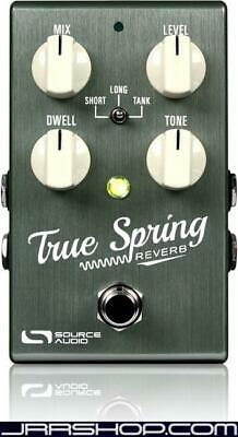 Source Audio True Spring Reverb and Tremolo Pedal New JRR Shop