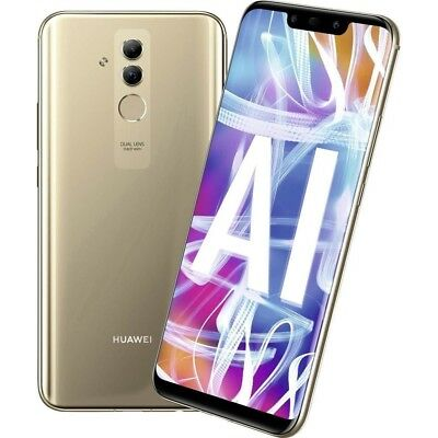 Huawei Mate 20 Lite 64GB gold 4GB RAM Android Smartphone Handy ohne Vertrag