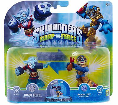 BNiB SKYLANDERS SPYRO/'S ADVENTURE GIANTS SWAP FORCE TRAP TEAM DOUBLE TROUBLE