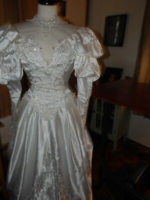 1990's Vintage  Wedding Dress