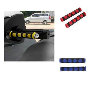 4x Motorcycle Bikes Brake and Clutch Lever Sleeves Set ( Blue & Red )