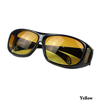 Night Sight Driving Over Glasses UV Sun Wind Protection Drivers Overglasses M L