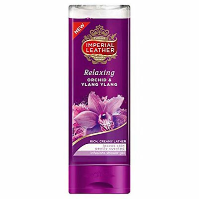 ** 2 X CUSSONS IMPERIAL LEATHER RELAXING ORCHID & YLANG SHOWER GEL 250ml NEW **