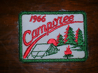 Vintage BSA 1966 Camporee ~ Boy Scout ~ Patch~ Badge ~ NOS