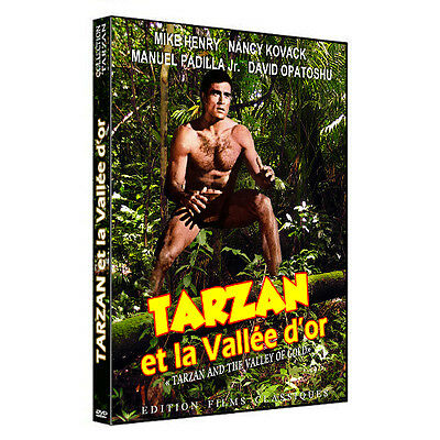 TARZAN et la vallée d'or (Mike Henry) DVD