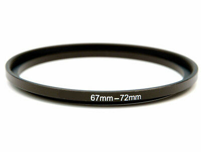 67-72mm Metal Step Up Ring Lens Adapter from 67 to 72mm Filter Thread UK SELLER