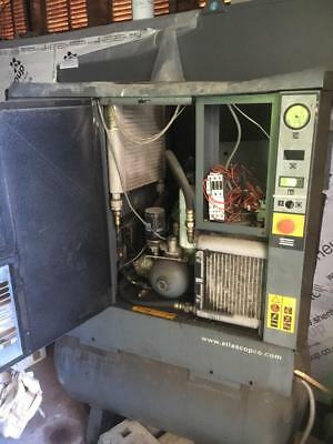 GX5FF Atlas Copco Receiver Mounted Rotary Screw Compressor With Dryer in Barking