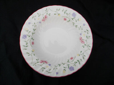 Johnson Brothers  SUMMER CHINTZ Rimmed Soup Plate.  Diameter 8½ inches.