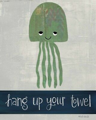 FINE-ART-PRINT-Hang-Up-Your-Towel-Poster-Paper-or-Canvas-for-home-decor