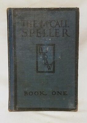 Vintage The McCall Speller Book One Hardback 1928 Laidlaw Brothers
