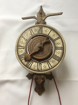 Vintage Replica of 13th Century Wooden Foliot Clock