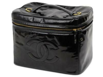 35f3bac105dafa CHANEL EXTRA LARGE Black Calfskin Coco Cabas Bag Purse ~ Incredibly ...