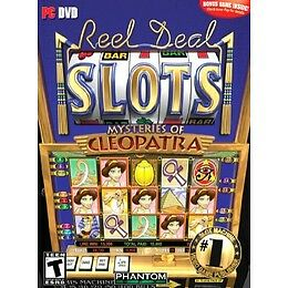 Video Game PC Reel Deal Slots Mysteries of Cleopatra NEW SEALED BOX