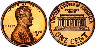 1970-S Proof Large Date Lincoln Cent Nice Coins Priced Right Shipped FREE