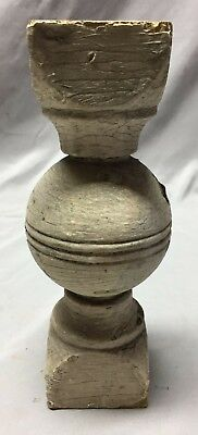 Antique Ball Finial Spindle Shabby Vintage Chic 137-19C