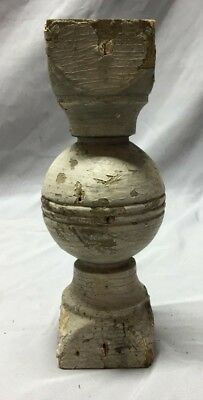 Antique Ball Finial Spindle Shabby Vintage Chic 139-19C