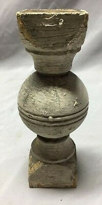 Antique Ball Finial Spindle Shabby Vintage Chic 140-19C