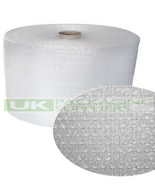 1 SMALL BUBBLE WRAP ROLL 300mm WIDE x 100 METRES LONG PACKAGING CUSHIONING - NEW