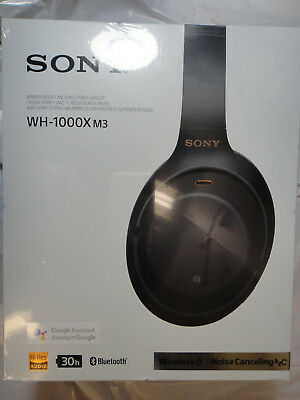 New Sony Wh-1000Xm3 Wireless Noise Canceling Black Headphones Brand New,Sealed