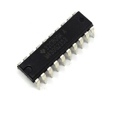 6x SN74HCT245N IC digital 3-state, bus transceiver, octal Channels8 DIP20