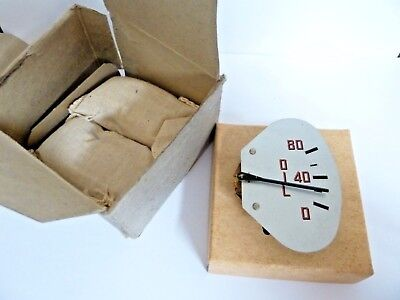 NOS 1940s INTERNATIONAL, DODGE TRUCK OIL PRESSURE GAUGE, SILVER FACE