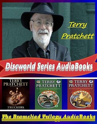 Discworld Series AudioBooks Collection +The Bromeliad Trilogy by Terry Pratchett