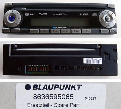 Original Blaupunkt Car Radio ALICANTE CD32 Bedienteil 8636595065 - NEU