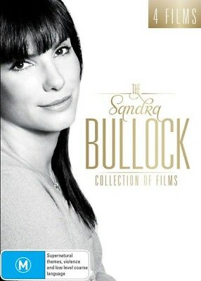 The Sandra Bullock Collection Of Films (DVD, 2017, 4-Disc Set) New & Sealed R4