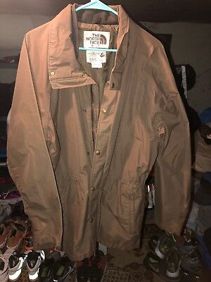 6cc18911e9 The North Face Gore Tex US Fish Wildlife Service Jacket Mens XL Extra Large  Brwn