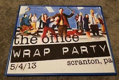 Framed THE OFFICE NBC WRAP PARTY 5/4/13 16X20 Print Limited Edition Marquis Art