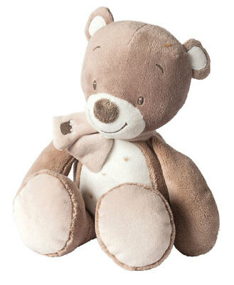 Plush Soft Baby Toy Nattou Toys Cuddly Tom the Bear Stuffed New 30 cm