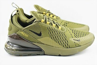Nike Air Max 270 Mens Size 10 Running Shoes Triple Olive Green AH8050 301 d6d7f2a8b