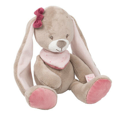 Plush Soft Baby Toy Nattou Toys Cuddly Nina the Rabbit Stuffed New 30 cm