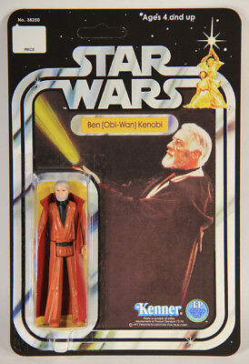 L009496 Star Wars 1977 Custom Card 12 Back Action Figure / Ben Kenobi Grey Hair