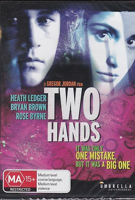 TWO HANDS - Heath Ledger, Bryan Brown Dvd  New And Sealed AUSTRALIAN MOVIE