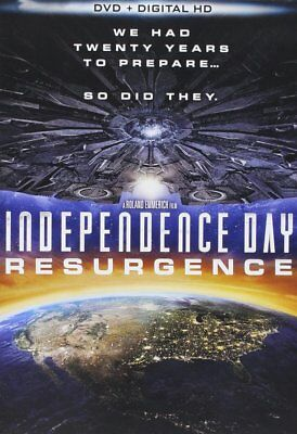 Independence Day: Resurgence 3D [Blu-ray] [2016] New Sealed