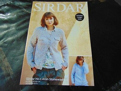 Sirdar No 1 Double Knitting Pattern 8049 Sizes 32//34-52//54 in