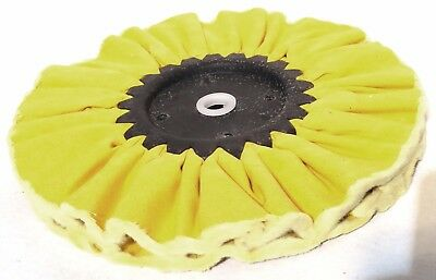"treated airway buffing wheel yellow 5/8"" for Kenworth Peterbilt Freightliner"