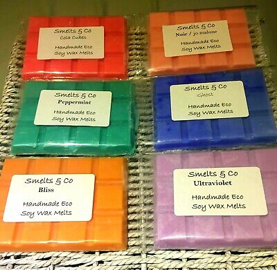 ❤️ HIGHLY SCENTED Wax Melt Bars  -Vegan Friendly Soy Wax - Latest Scents