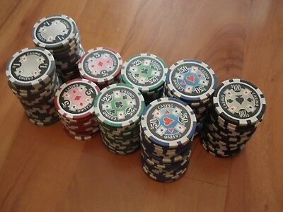 **MINT** 141 Pieces High Quality 11g Casino Jacks / Poker Game Chips