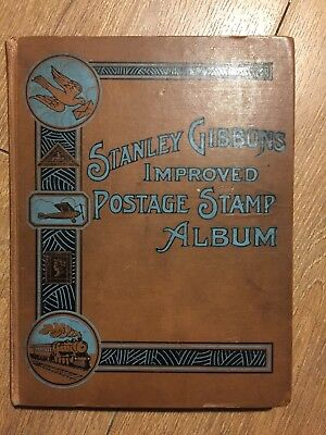 Stamp Collection In Stanley Gibbons Stamp Album  Mostly Full