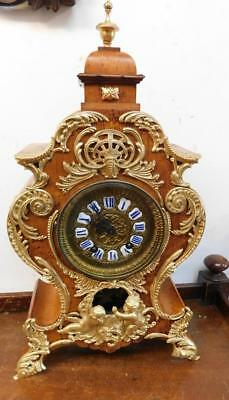 intrestintg lenzkirch brass mounted bracket clock c1900s
