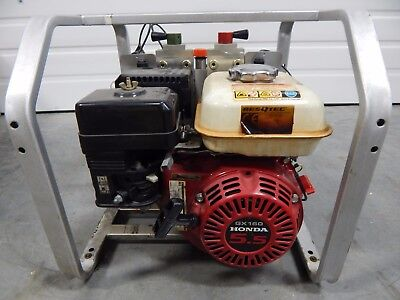 RESQTEC MAXI PU STD 2X2 MTO POWER UNIT PUMP  HONDA GX160 Hydraulic power unit