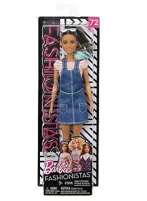 Barbie FJF37 Fashionistas Doll Overall Awesome