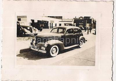 1941 VIRGINIA License Plate Old Antique Cars By Auto Garage Vintage Photo