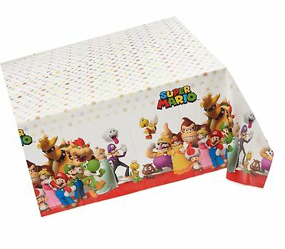 //encrypted-tbn0.gstatic.com/images?q\u003dtbnANd9GcSYXvE9OeWOeGjcy2n2Ugd-dcehaoPGk99UVm8vPAJNEPz20AkV & SUPER MARIO BROTHERS Plastic Table Cover Party Favor Tablecover