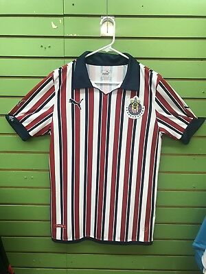 b387e4824 CHIVAS DEL GUADALAJARA Away 2018- 2019 jersey Size Large FITTED ...