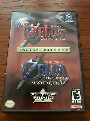 The Legend of Zelda Ocarina of Time / Master Quest Gamecube CIB, Tested, Great!