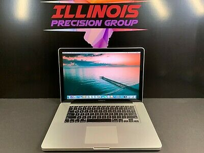 Apple Macbook Pro 15 * Pre-Retina * 3 Year Warranty * Intel * 8Gb Ram 500Gb *