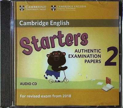 Cambridge English STARTERS 2 for Exam from 2018 Official Material AUDIO CD @New@